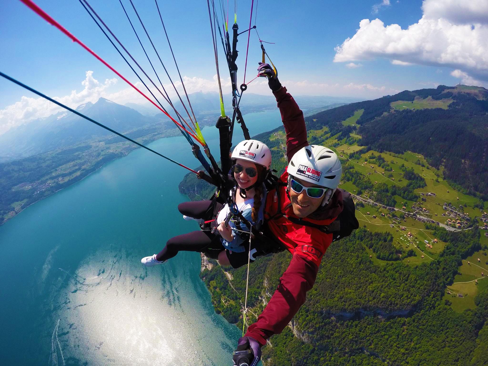Interlaken paragliding