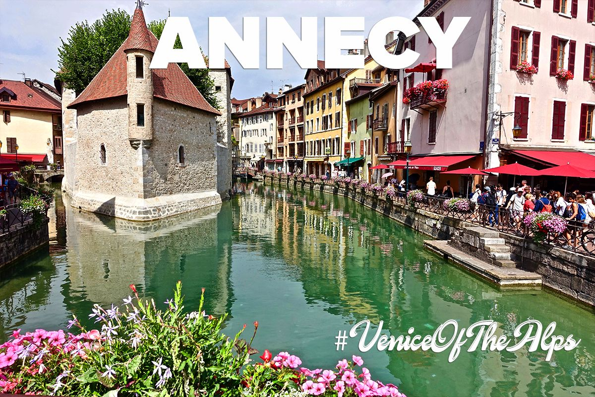 Anncey - The Venice of the Alps